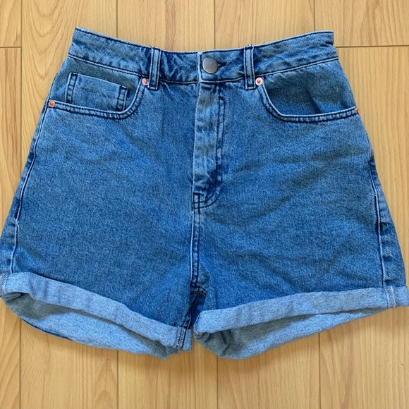 f8b67bc81a ASOS Shorts | Design Denim Ritson Mom Short In Blue | Poshmark